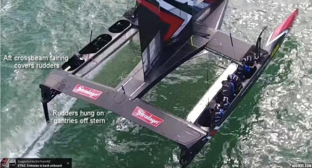 Capture vidéo d'Emirates Team New Zealand